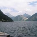 Hluboká jezera obklopená horami - to je Solná komora