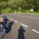A to je první sedlo - Pass Gschütt 957m n.m.