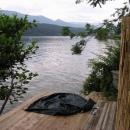 U Millstätterského jezera znárodňuji jedno molo
