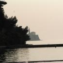 Piran - pevnost na výběžku do moře