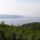 Výhled na ostrov Cres u Brestové