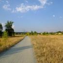 Cyklostezka v Karlíně ještě čeká na developery, co to tu zastaví