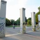 Protipovodňové zábrany v Libni vypadají jak nějaký památník