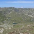 Urdina jezera z východní strany