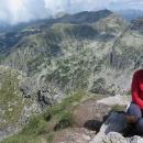 Na 2729 metrů vysokém vrcholu Maljovica