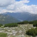 Nalevo přehrada Beli Iskar