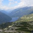 Doslova letecké pohledy na přehradu Beli Iskar
