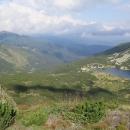 Pohled na chatu Grnčar