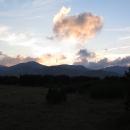 Západ slunce nad Rilou