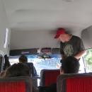 Ráno jedeme autobusem do Samokova a pak do Sapareva Banja k autu