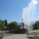 Sapareva Banja - vývěr doslova vařící vody