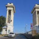 Most je zároveň hranice mezi Bulharskem a Rumunskem