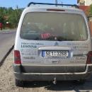 Naše auto po průjezdu Rumunskem :-)