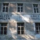 Válcový mlýn v údolí Brtnice (Karel Vidourek či Karla Vidourka)