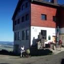 A už jsme tady - naše oblíbené výletní místo - Severomoravská chata