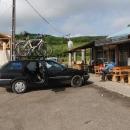 Obrázek z dvoudenní cesty autem z Těchonína do centrálního Rumunska