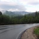 Po dešti v Rumunských horách