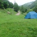 Stanujeme v rumunských horách