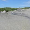 Paclele Mici. Krátery sopek.