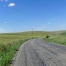 Krajina mezi Dunajem a Černým mořem je lehce zvlněná pustina