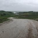 I v horké Moldávii umí být chladno, větrno a deštivo. Přijíždíme k hraniční řece Prut.