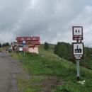 Poslední a zároveň nejvyšší rumunské sedlo, pasul Prislop 1416 metrů.