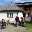 Domek, kde jsme nocovali s jeho obyvateli