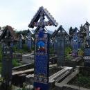 Veselý hřbitov v Sapintě