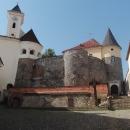 Na hradě v Mukačevu nás mrzelo jediné, že zde chyběl výhled na město.