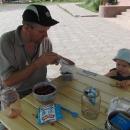 Snídáme maliny se smetanou