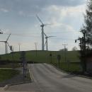 Větrné elektrárny u Ramzové