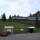 V Horní Lipové trať tvoří tzv. Slezský Semering