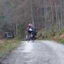 Cesta na hřeben Rychlebských hor znamená velkou dřinu