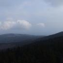 Výhledy z Borůvkové hory trochu pokazilo zhoršující se počasí