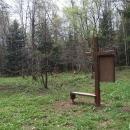 V sedle Růženec v místě bývalé vsi Orlovec překračujeme hranice do Polska