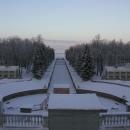 Pohled z Petrodvorce k Finskému zálivu