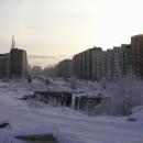 Prospek Koroleva, v jednom z těch paneláků jsme bydleli