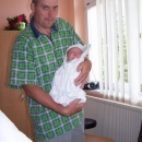 Šárka s tatínkem