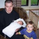 Tatínek s dětičkama