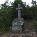 Kříž na vyhlídce opata Zavorala