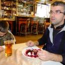 Pavel s tím moc nesouhlasil, ale nakonec si pochutnal na borůvkových knedlíkách (bacha: v Polsku se borůvky řeknou JAGODY!!!)
