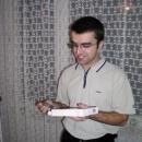 Pavel má z dárku, zdá se, radost :-)