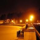 Krátce před půlnocí jdeme na procházku noční Stráží.
