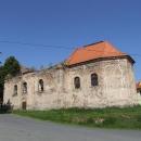 Zřícenina kostela v Lestkově