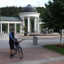 Typický cykloturistický lázeňský host