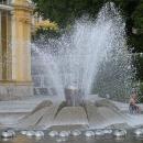 Zpívající fontána momentálně jen šeptá