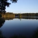 Podvečer u Kladského rybníku