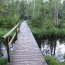 Z Kladského rybníku ústí Dlouhá stoka vybudovaná pro potřeby rudného hornictví