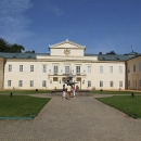 Na nádvoří zámku Kynžvart