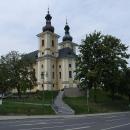 Z hradu moc v Kynšperku nezbylo, tak aspoň kostel tu mají pěkný